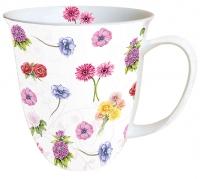 Porzellan-Tasse - Flower Festival