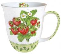 Porzellan-Henkelbecher Mug 0.4 L Season Fruit