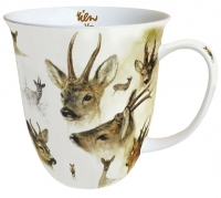 Porzellan-Tasse - Portraits Of Deer