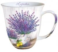 Porzellan-Tasse - Lavendel