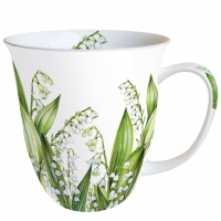 Porzellan-Tasse - Sweet Lily