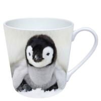 Porzellan-Henkelbecher Baby Penguin