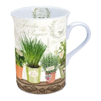 Porzellan-Tasse Le Jardin De Provence