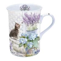 Porzellan-Tasse Kitten