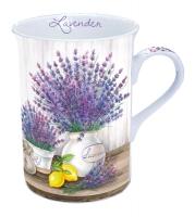 Porzellan-Tasse - Lavender