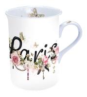 Porzellan-Tasse - Paris