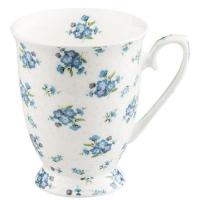 Porzellan-Tasse - Vergiss mich nicht.