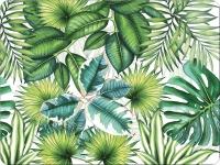 Tischsets - Tropische Blätter