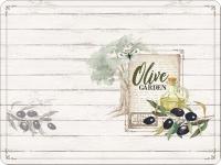 Tischsets - Olivengarten