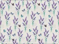 Tischsets - Lavender With Love Cream