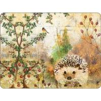 Tischsets - Autumn Hedgehog