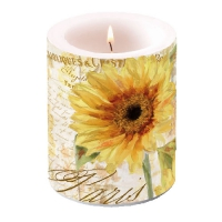 Dekorkerze Candle Big Tournesol