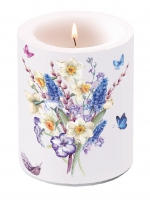 Dekorkerze Candle Big Muscari