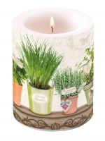 Dekorkerze Candle Big Le Jardin De Provence