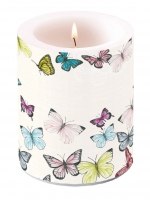 Dekorkerze Candle Big Butterfly