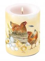 Dekorkerze - Zucht von Huhn