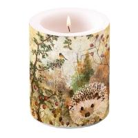 Dekorkerze - Autumn Hedgehog