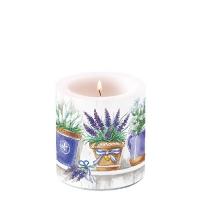Dekorkerze klein Lavender Range
