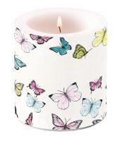 Dekorkerze klein - Butterfly