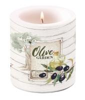 Dekorkerze klein - Olive Garden