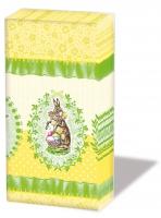 Taschentücher Nostalgic Easter Yellow