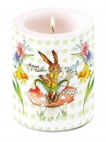 Kerze Easter Song Green