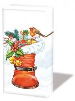 Taschentücher Christmas Boot