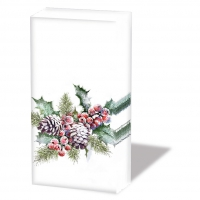 Taschentücher - Holly And Berries
