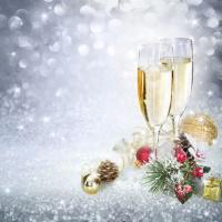 Cocktail Servietten New Year´s Eve