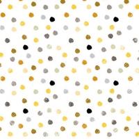 Cocktail Servietten Swirling Dots White