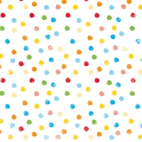 Servietten 25x25 cm - Swirling Dots Mix