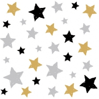Cocktail Servietten Swirling Stars