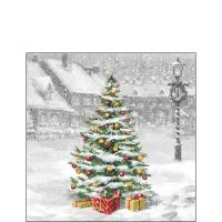 Servietten 25x25 cm - Tree On Square