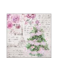 Servietten 25x25 cm - Rêves De Noël
