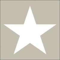 Servietten 33x33 cm - Star Sand