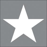 Servietten 33x33 cm - Star Grey