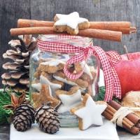 Servietten 33x33 cm - Cookies Jar