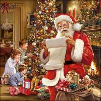 Servietten 33x33 cm - Christmas Eve