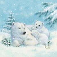 Lunch Servietten Polar Bears