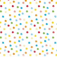 Servietten 33x33 cm - Swirling Dots Mix