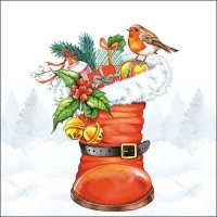 Servietten 33x33 cm - Christmas Boot