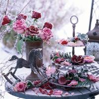 Lunch Servietten Frozen Roses