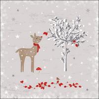 Servietten 33x33 cm - Sniffing Deer
