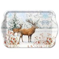 Tablett - Deer In Snow