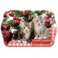Tablett - Christmas Kitten