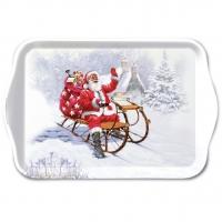 Tablett - Santa On Sledge