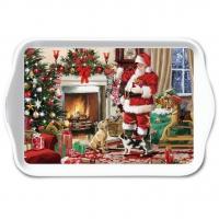 Tablett - Santa Interior