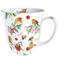 Porzellan-Tasse - Weihnachtsschmuck