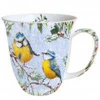 Porzellan-Tasse Chirping Birds