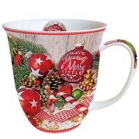 Porzellan-Tasse - Merry Little Christmas